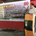 Mahmud Yusuf Mengukuhkan Pengurus Bulu Lautang Shooting dan Hunting Club