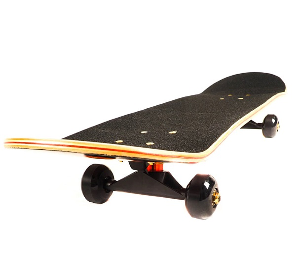 Скейтборд Action One ABEC-11, 79 cm, Flames Skull