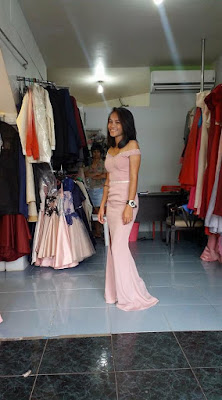 My Eldest Daughter and Her Classy Gown