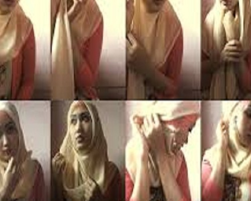 Daftar Aneka Model Jilbab Syar'i Modern, Foto Gambar Dan Cara Memakainya