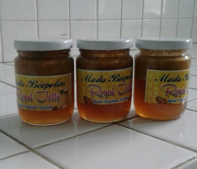 Madu sebagai obat dan penambah stamina | Madu royal jelly dijual dengan harga 150.000/botol