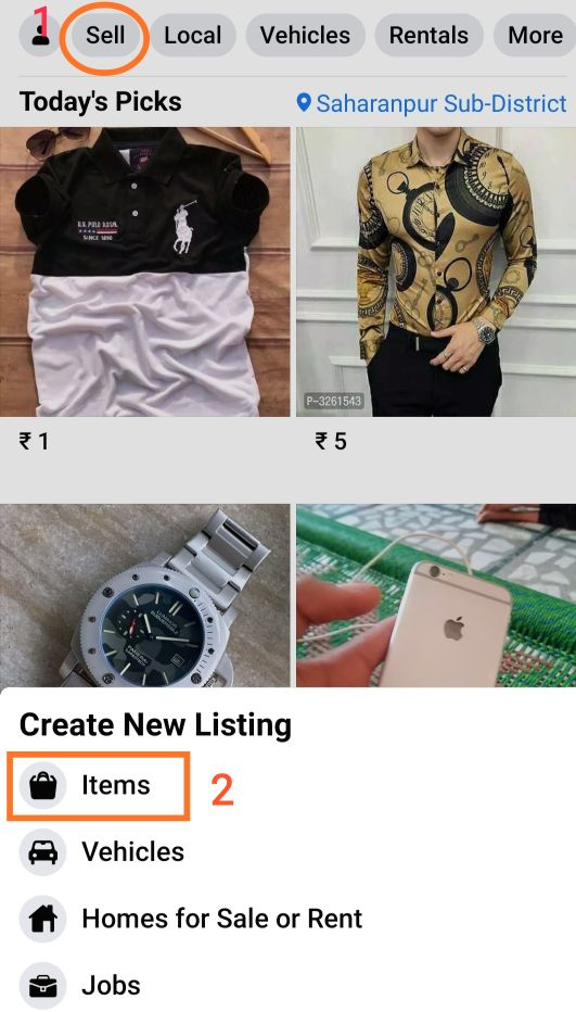 meesho products sell on Facebook marketplace