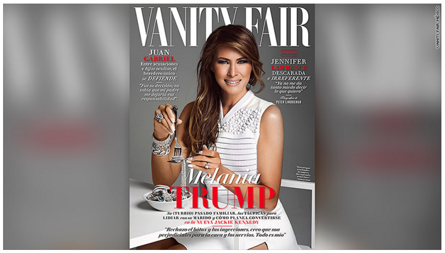 free to find 45 53 melania on vanity fair mexico cover january 27 2017