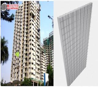 Double Panel dan Aplikasinya pada Bangunan One Park Apartement di Radio Dalam, Jakarta Selatan