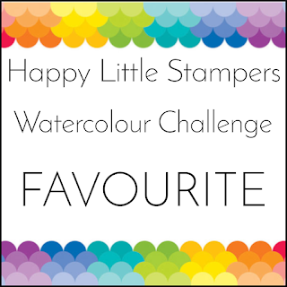 Happy Little Stampers Water Color Challenge FAVORITE for May2021!