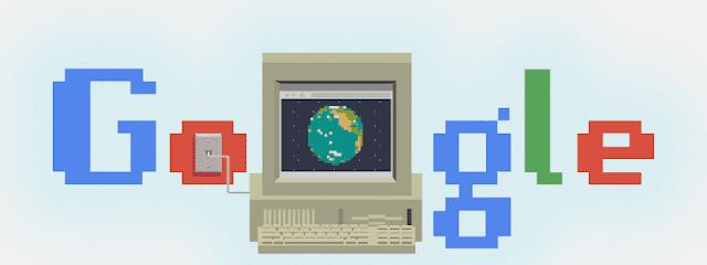 يحتفل Google Doodle بالعيد الثلاثين لشبكة الويب العالمية