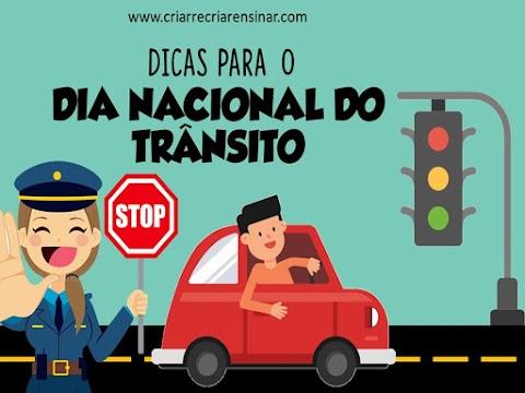 SEMANA NACIONAL DE TRÂNSITO - DICAS