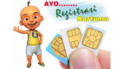 Cara Registrasi Kartu Perdana