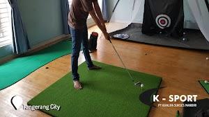 Jual Karpet Driving Golf di Tangerang