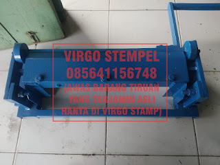 mesin plat nomor kendaraan press roll