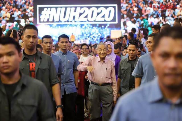 perdana menteri malaysia hadiri nuh2020