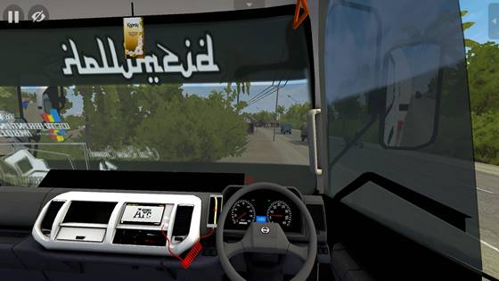 mod bussid truk hino tangki semen curah