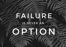 failure is not an option,short story on failure