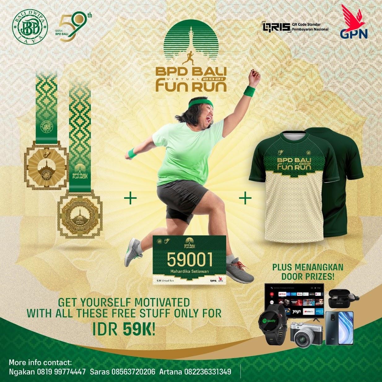 BPD Bali Virtual Fun Run • 2021