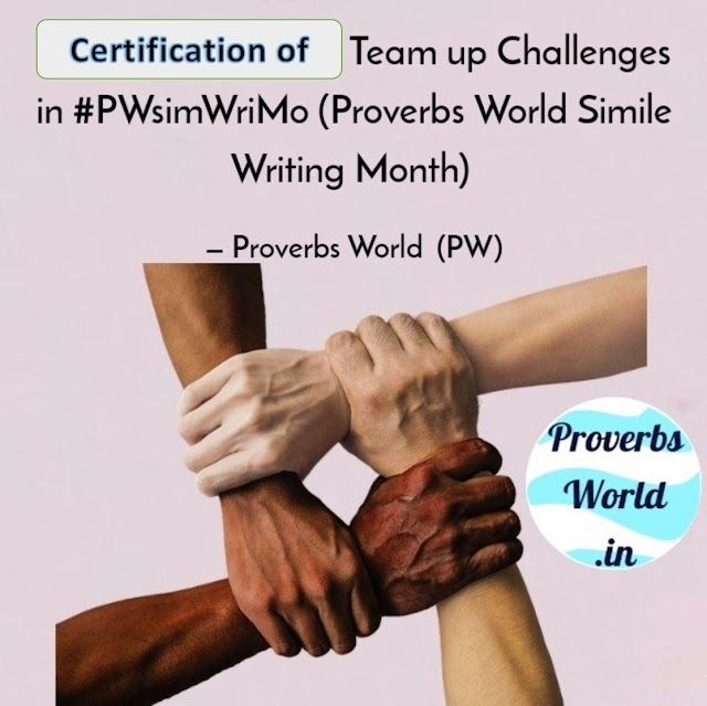Proverbs World SimWriMo Team up