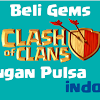 Cara Beli Gems Clash of Clans Via Pulsa Indosat