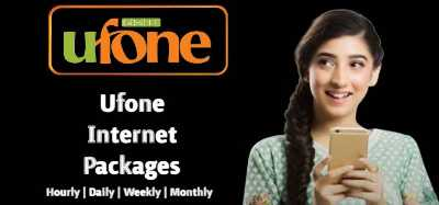 Ufone Internet Packages 2021: Hourly, Daily, Weekly and Monthly