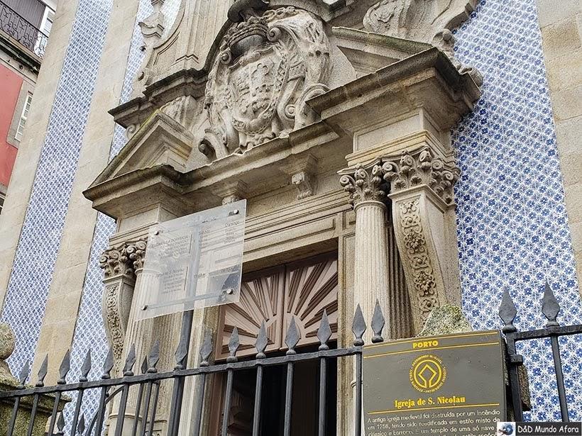 Igreja de São Nicolau - O que fazer no Porto, Portugal