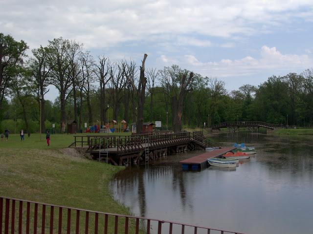 park rekreacyjny Krośnice
