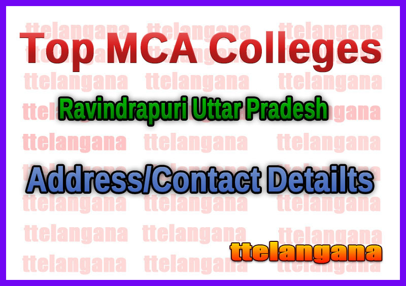 Top MCA Colleges in Ravindrapuri Uttar Pradesh