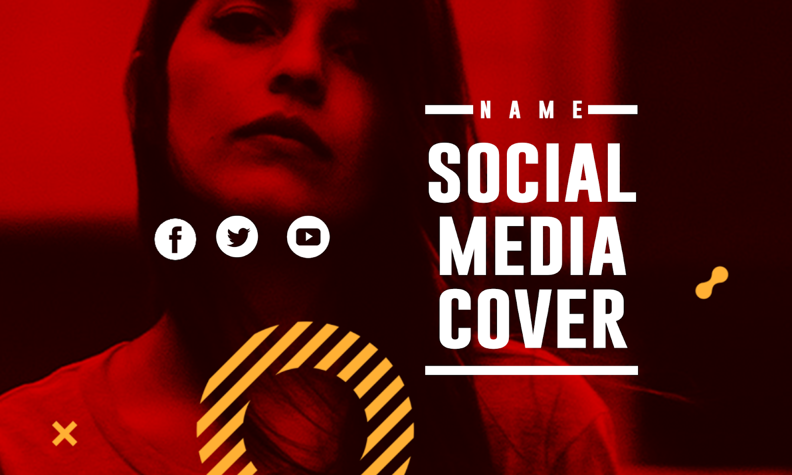 Free Download Social Media COVER Template - PSD File