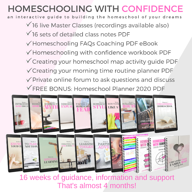 Homeschool master classes for muslim mums
