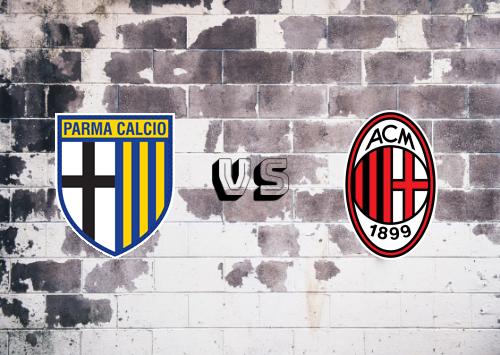 Parma vs Milan  Resumen y Partido Completo
