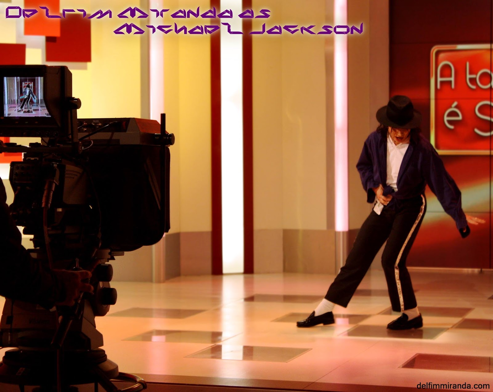Delfim Miranda - Michael Jackson Tribute - TV live appearence - TVI - Portugal