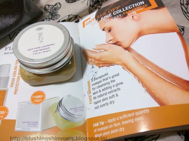 Votre Deep Pore Cleansing Clay Masque