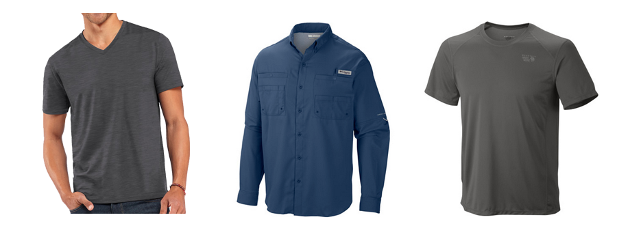 Men's travel shirts