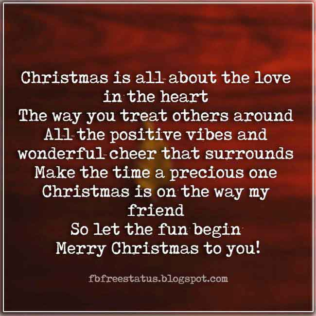Christmas saying for cards and Christmas Picture