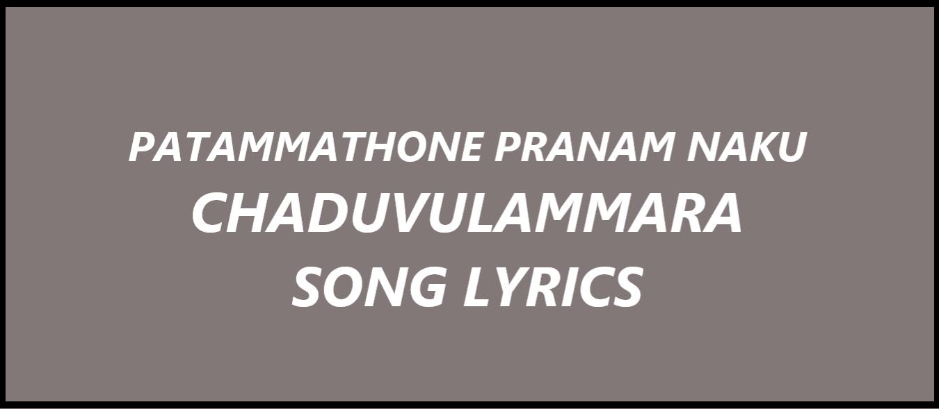 patammathone-pranam-naaku-song-lyrics