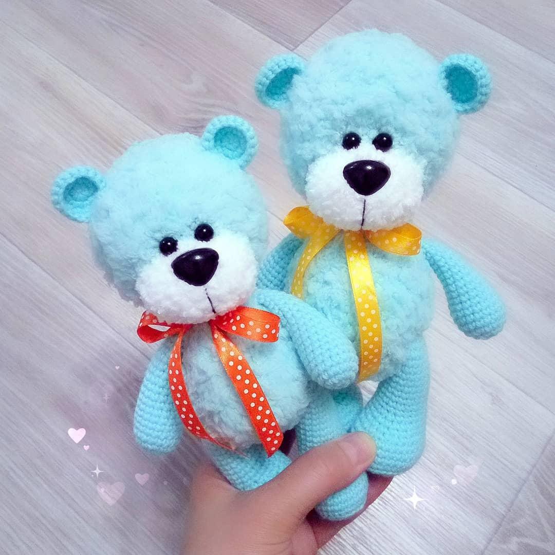 Amigurumi Cute Teddy Bear Free Crochet Pattern – Free Crochet ...   1080x1080