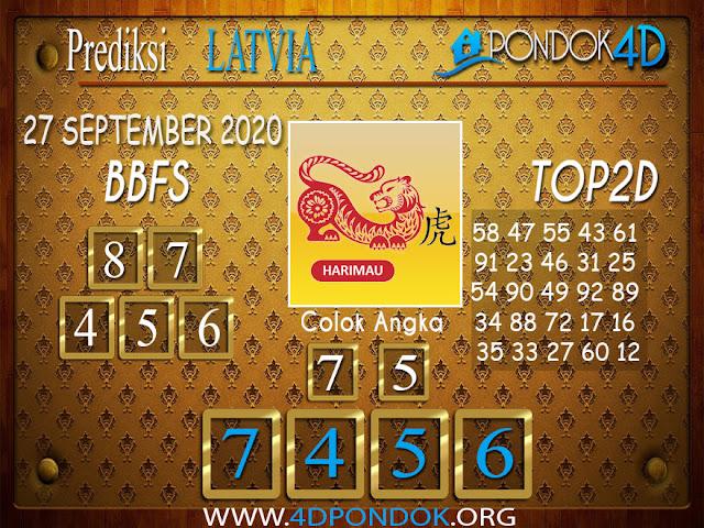 Prediksi Togel LATVIA PONDOK4D 27 SEPTEMBER 2020
