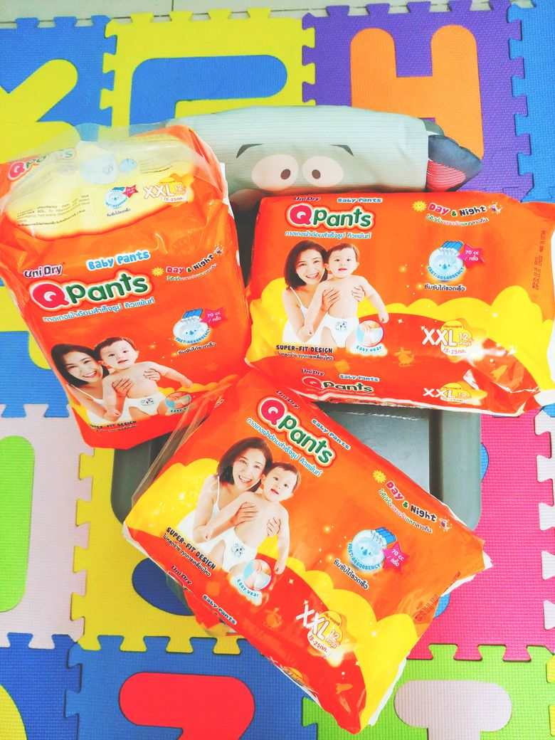 QPants Baby Diapers XXL size