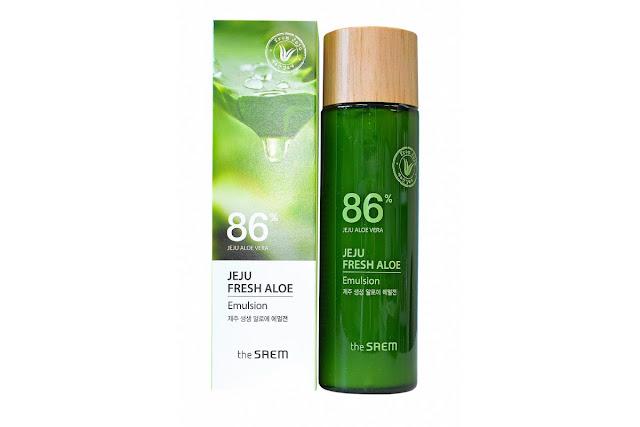 """alt:="""" The Saem Jeju Fresh Aloe Emulsion"""