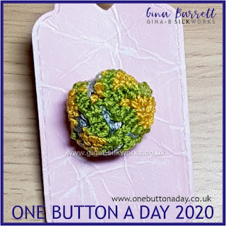 One Button a Day 2020 by Gina Barrett - Day 174 : Knoll