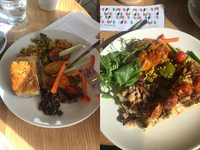 2 buffet style lunches