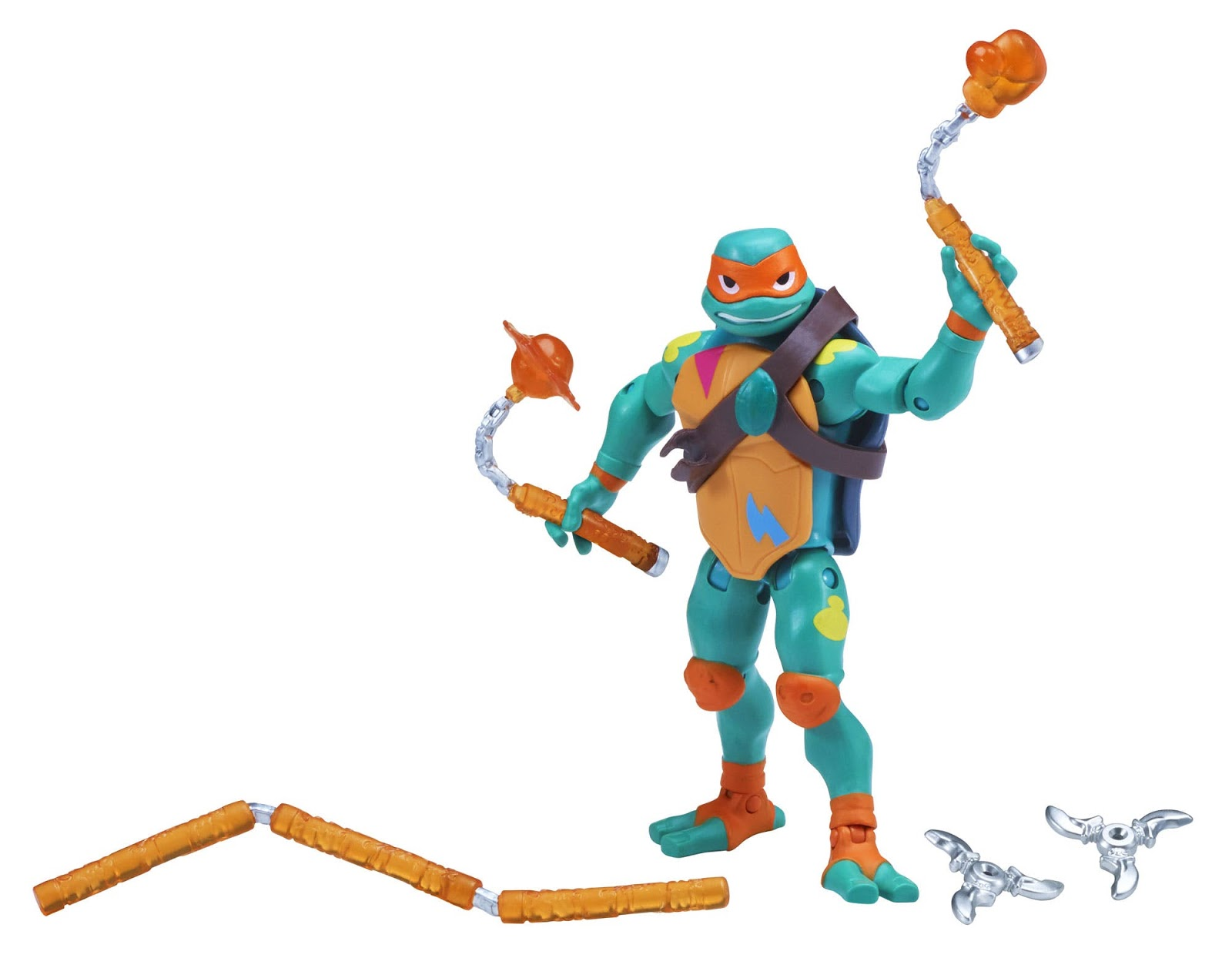 Playmates Rise Of The TMNT Mikey Sculpture