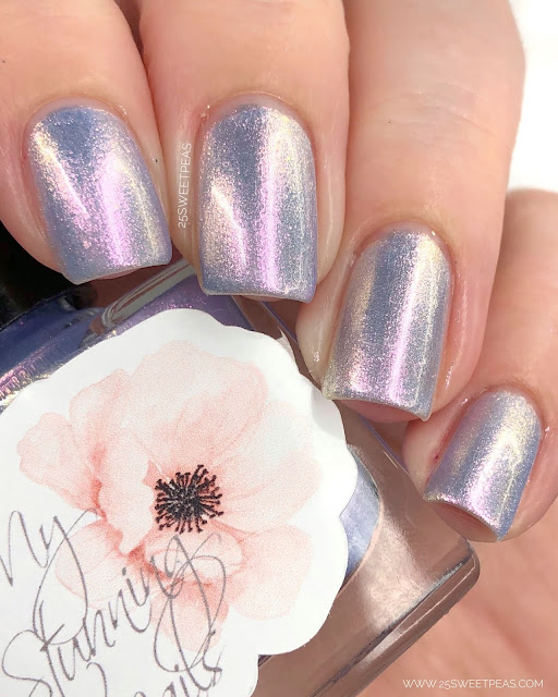 My Stunning Nails Blizzard 25 Sweetpeas