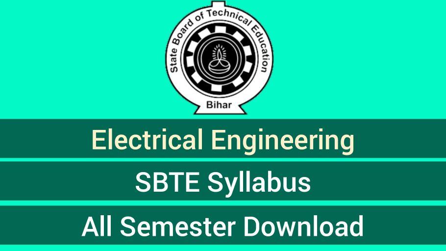 Electrical Engineering Syllabus