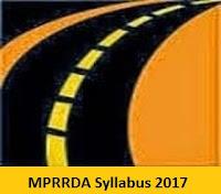 MPRRDA Syllabus 2017
