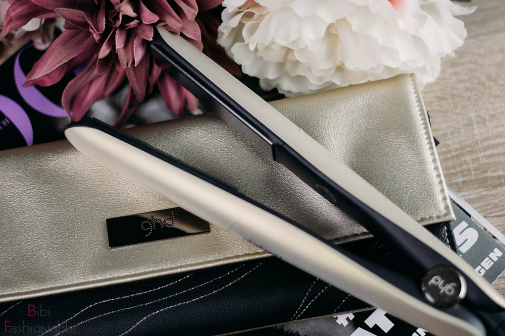 Hair In Motion ghd gold Styler Flatlay
