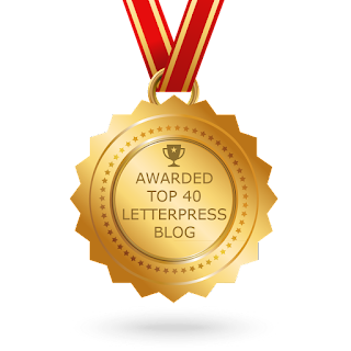 Top 40 letterpress blogs and websites for letterpress printing download badge high resolution image reheart Choice Image