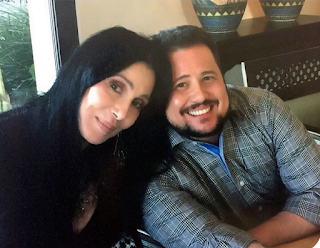 Cher with her son Chaz Bono, who celebrated his 47th Birthday in 2016