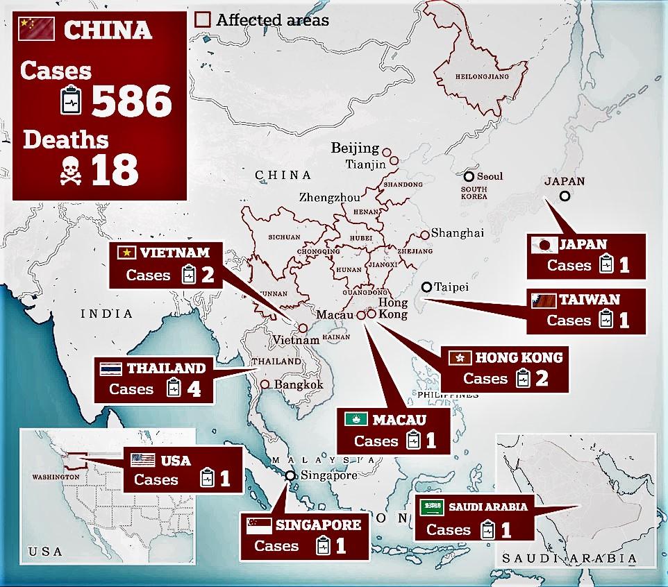 Coronavirus china 2020.