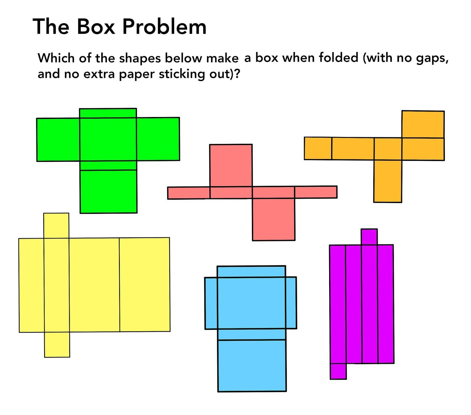 Math Problems Spatial Puzzles 3d