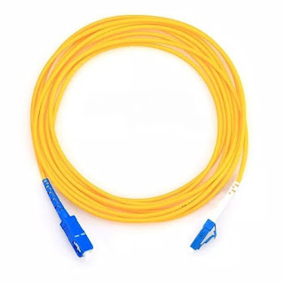 SMK Yasmida Ambarawa sudah menggunakan kabel fiber optik