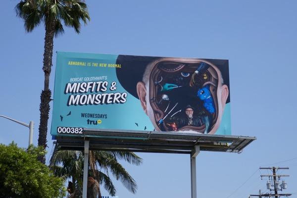 Bobcat Goldthwaits Misfits Monsters billboard