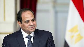 الرئيس المصري عبد الفتاح السيسي يؤكد التزام مصر بإنجاح مفاوضات سد النهضة